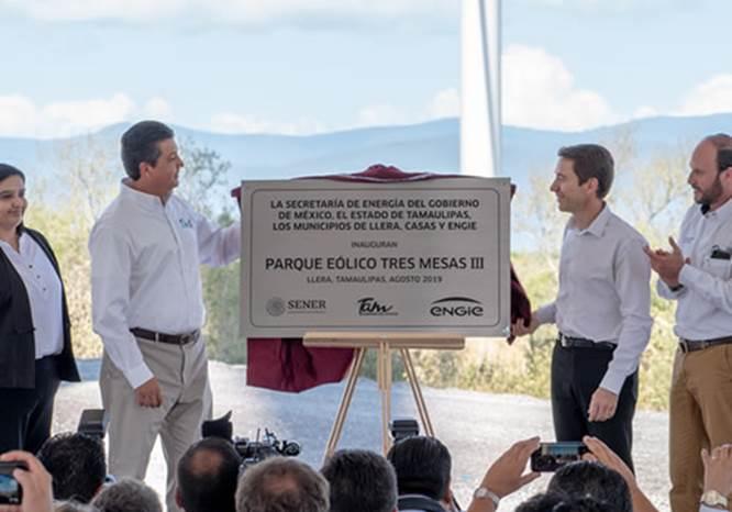 Llega nuevo parque eólico a Tamaulipas