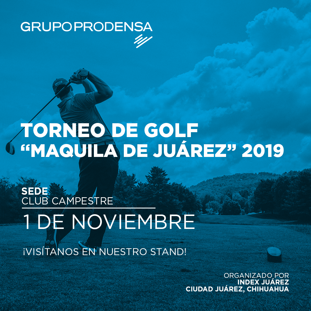 torneo de golf maquila de juarez 2019